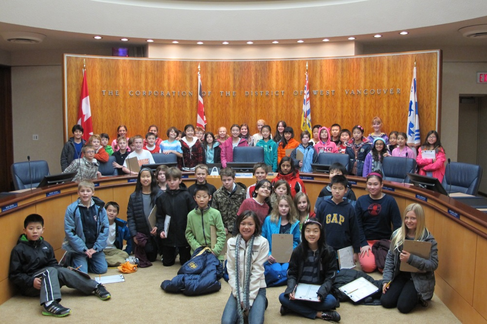 Visit to West Vancouver City Hall
