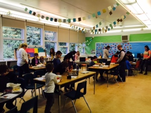 Digital Art/Grade 4-5 Collaborative Space